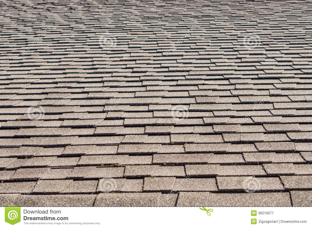 Roof Shingles As Background Or Texture Stock Image Image