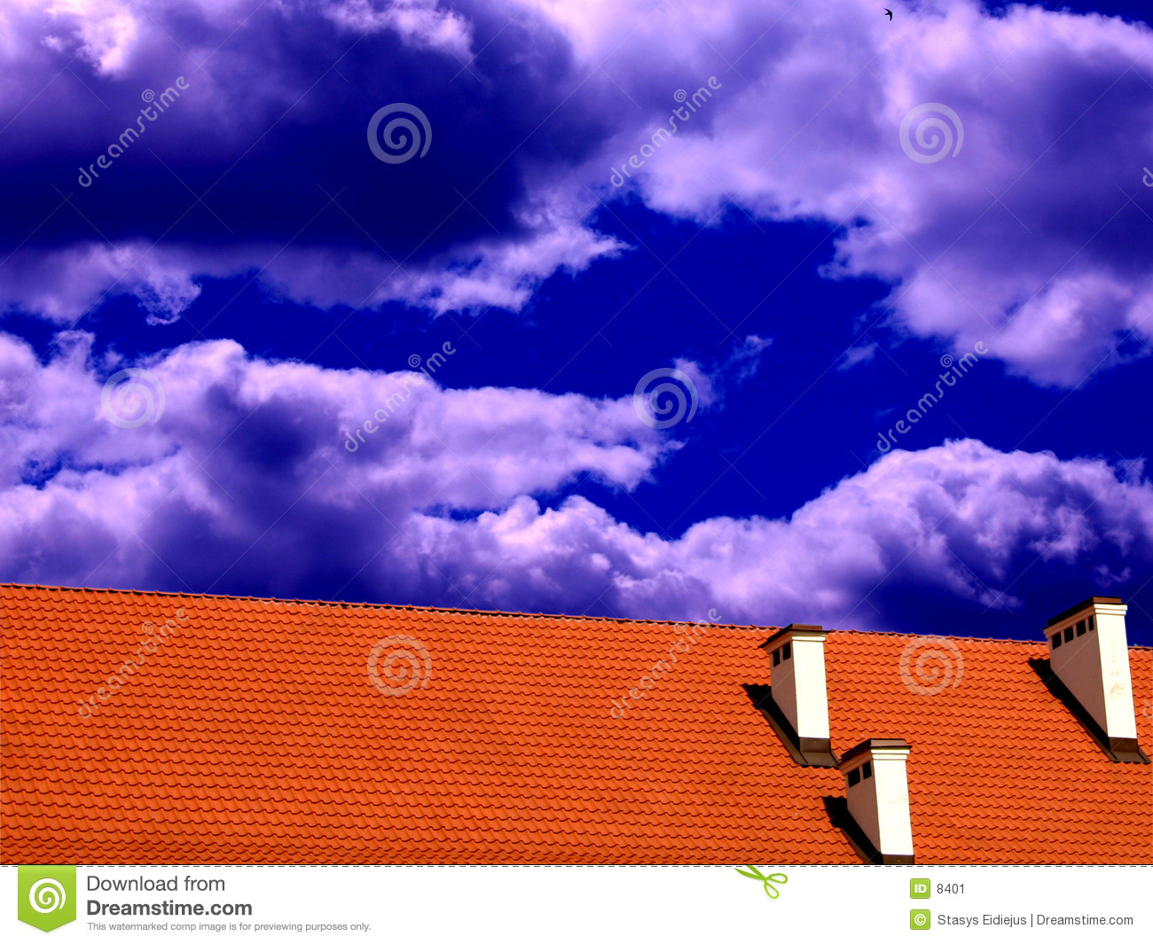 Roof and the sky II