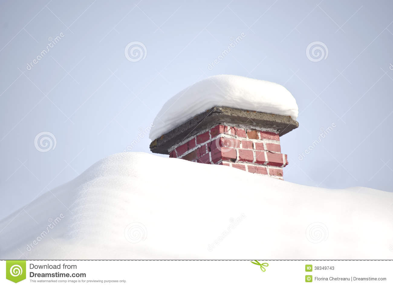 Roof With Snow Stock Image Image Of Building January