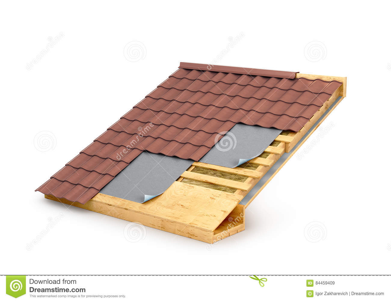 download roof in terms roof insulation stock illustration illustration of layer energy - Roof Terms