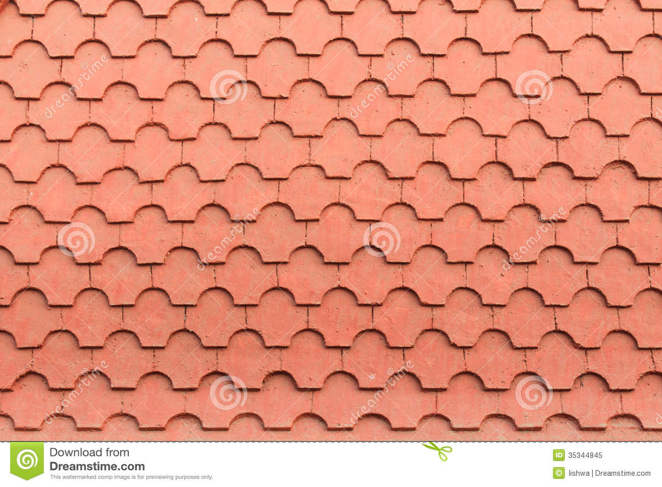 Roof Texture Stock Image Image Of Roof Cement Tiles