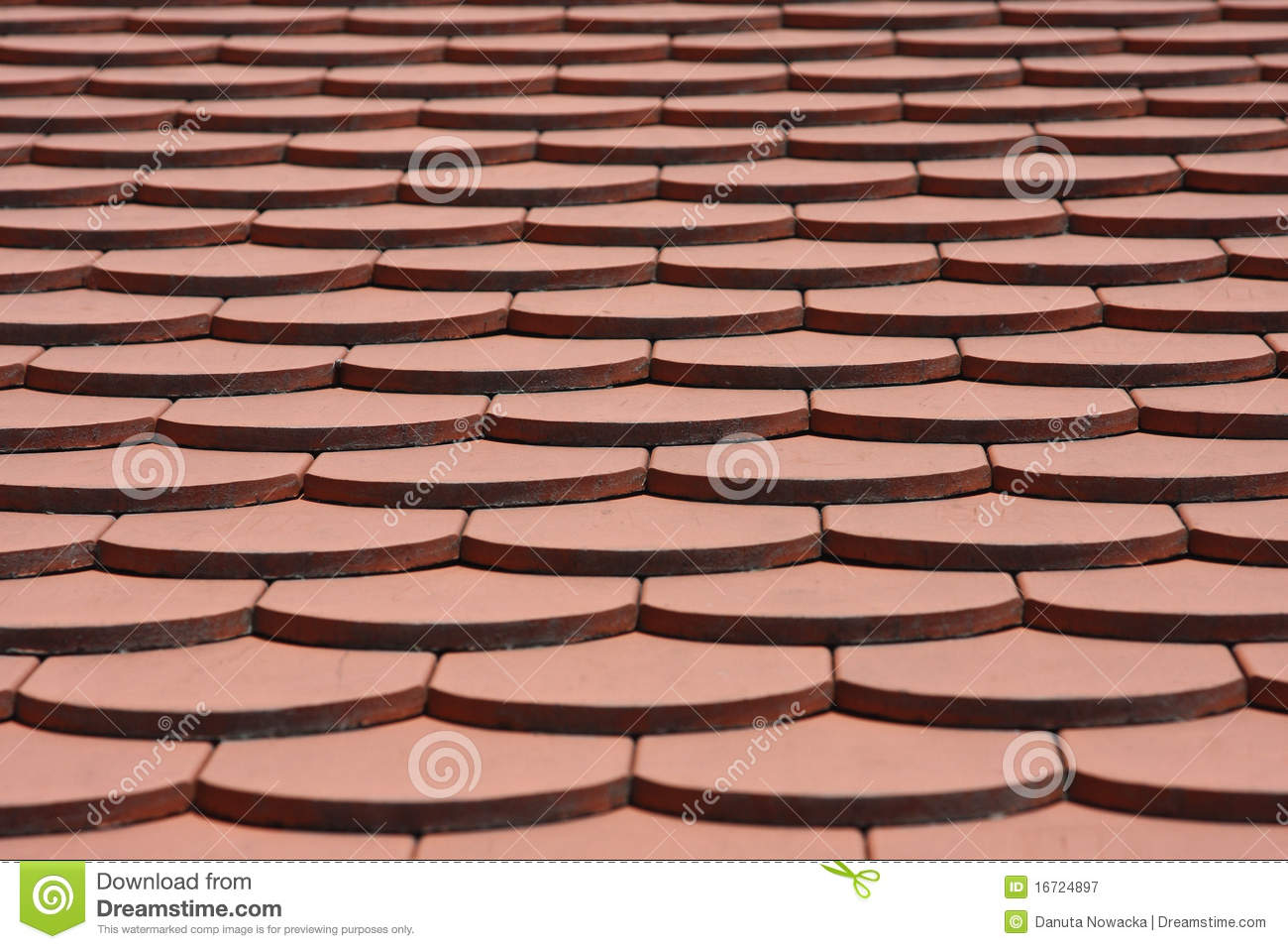 Roof tile pattern stock image image of terracotta design for Roof tile patterns