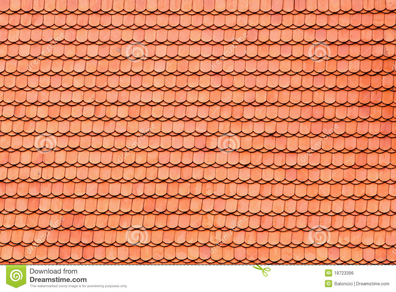 Roof tile pattern royalty free stock image image 18723396 for Roof tile patterns