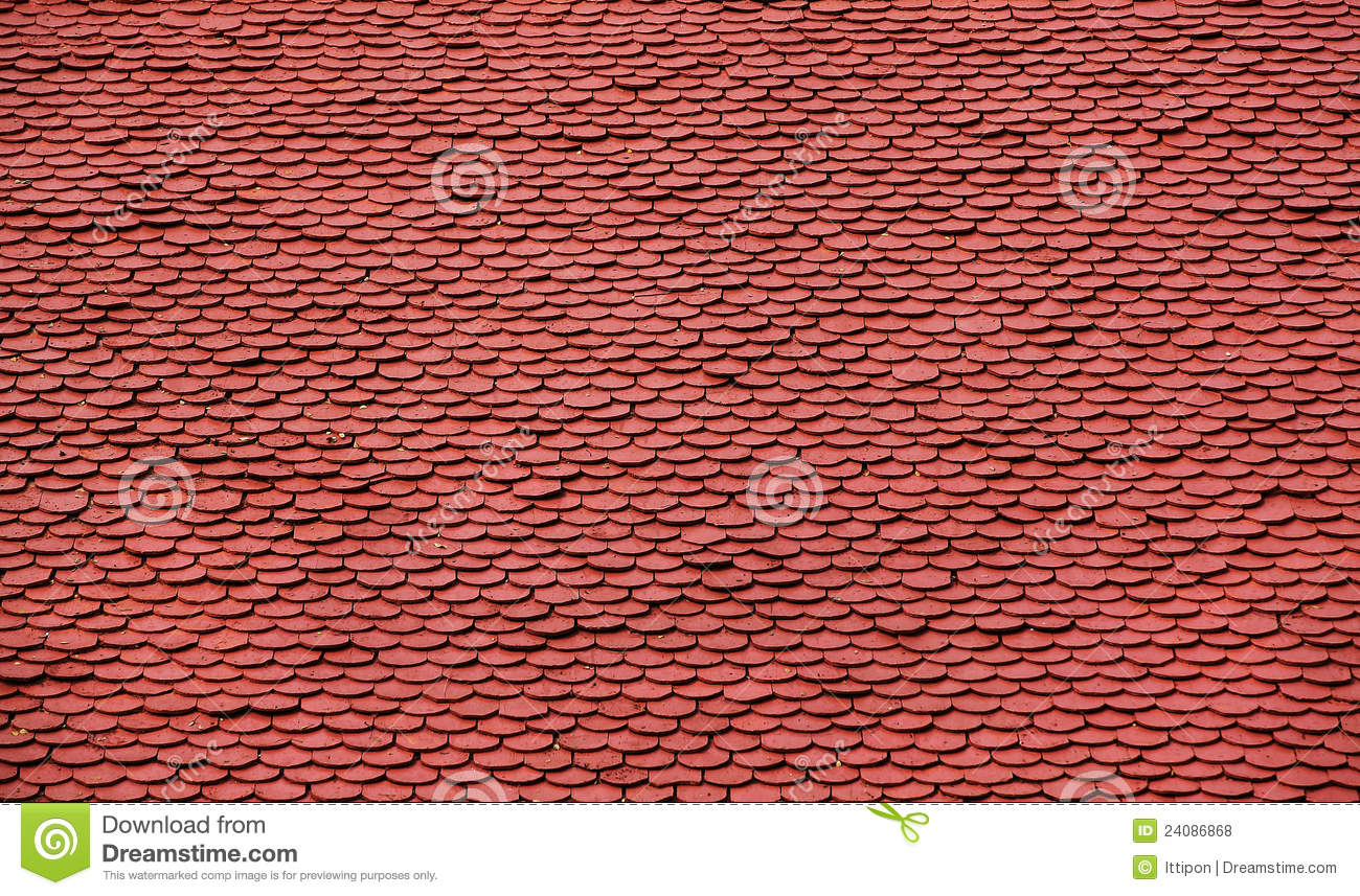 Roof tile pattern stock photo image of clay rooftop for Roof tile patterns