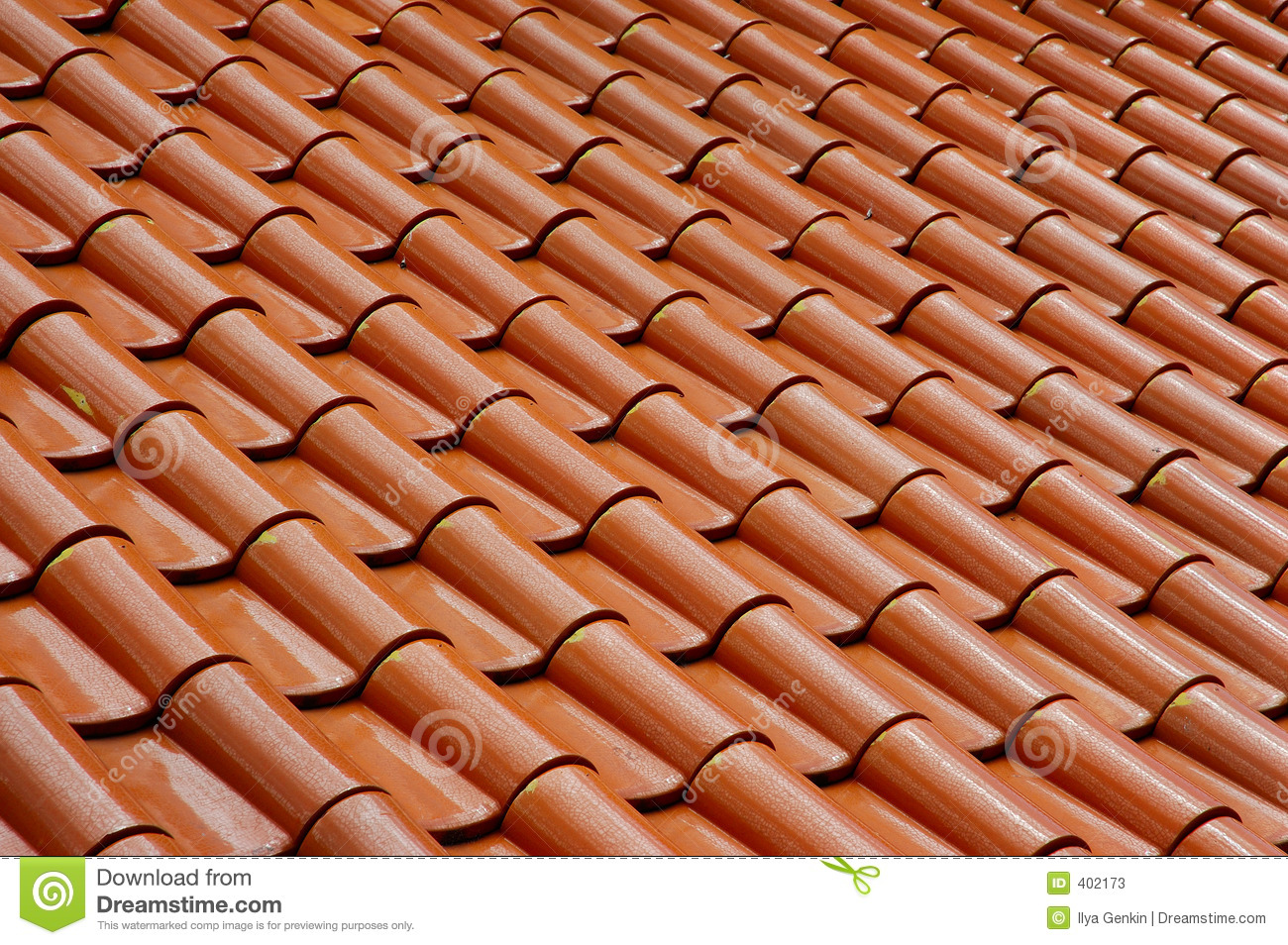 Roof Tile Pattern Stock Image Image Of Roof Tiling