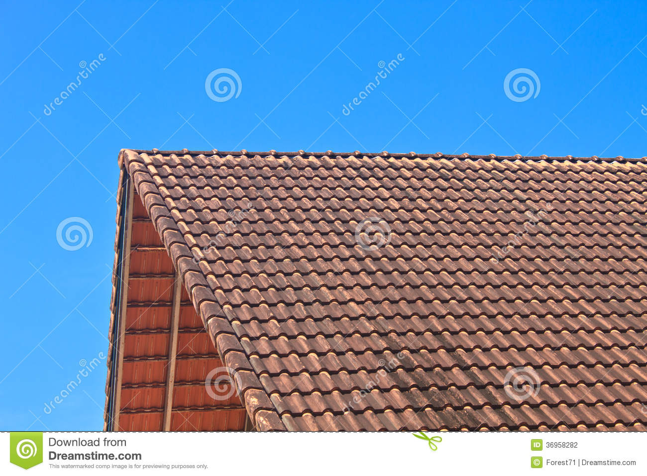 Roof tile pattern stock photography image 36958282 for Roof tile patterns