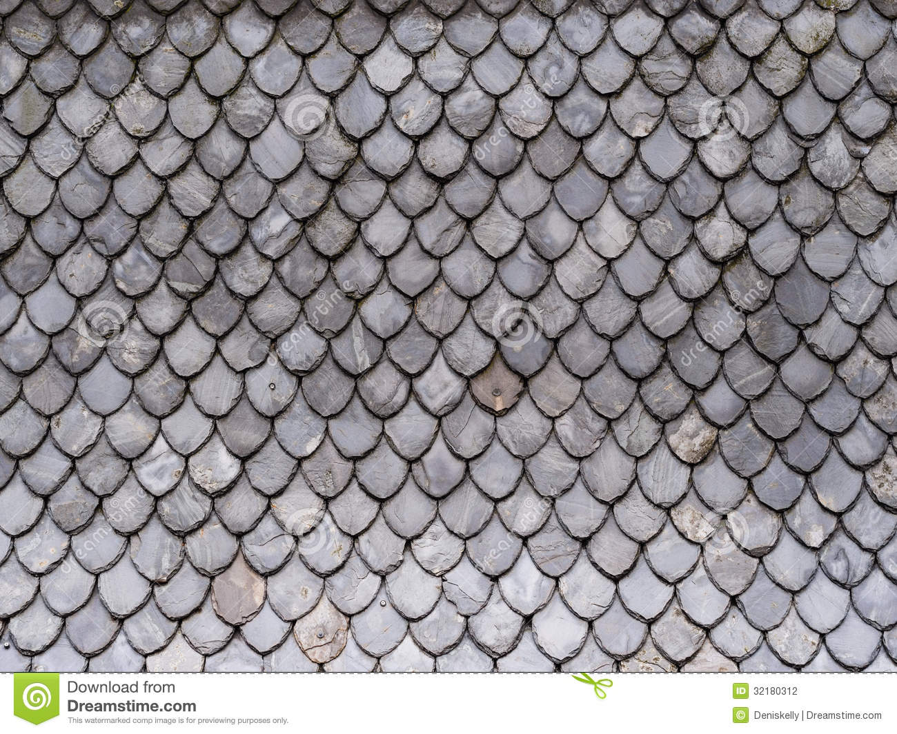 Old Floor Plans Grey Roof Tiles Background Pattern Stock Photography