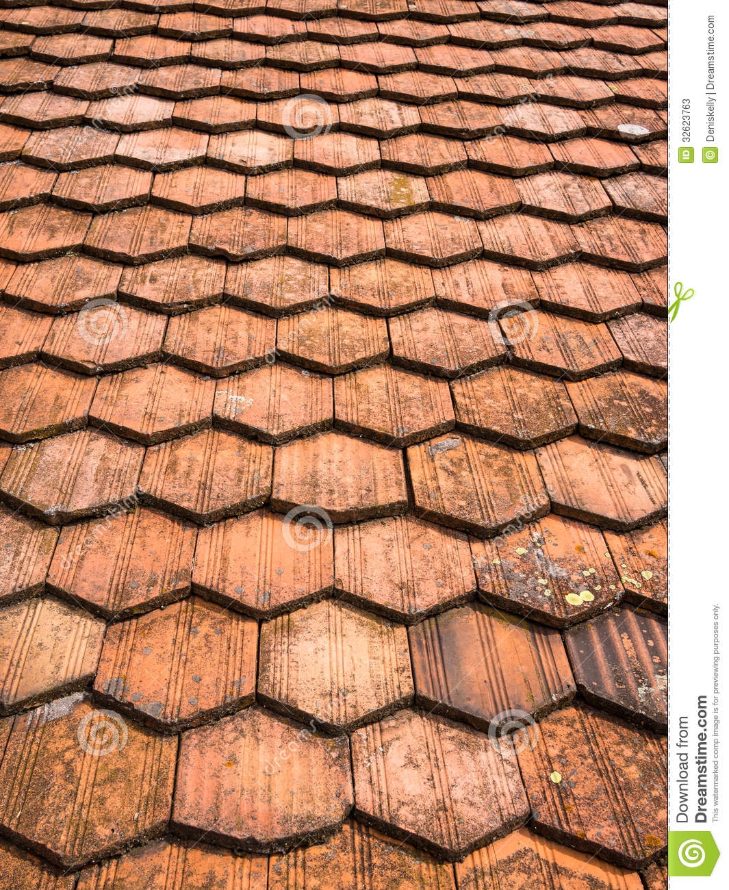 Roof tiles abstract pattern stock photos image 32623763 for Roof tile patterns