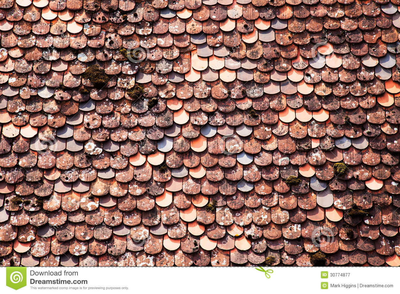 Roof tiles background royalty free stock photography for 3d roof wallpaper