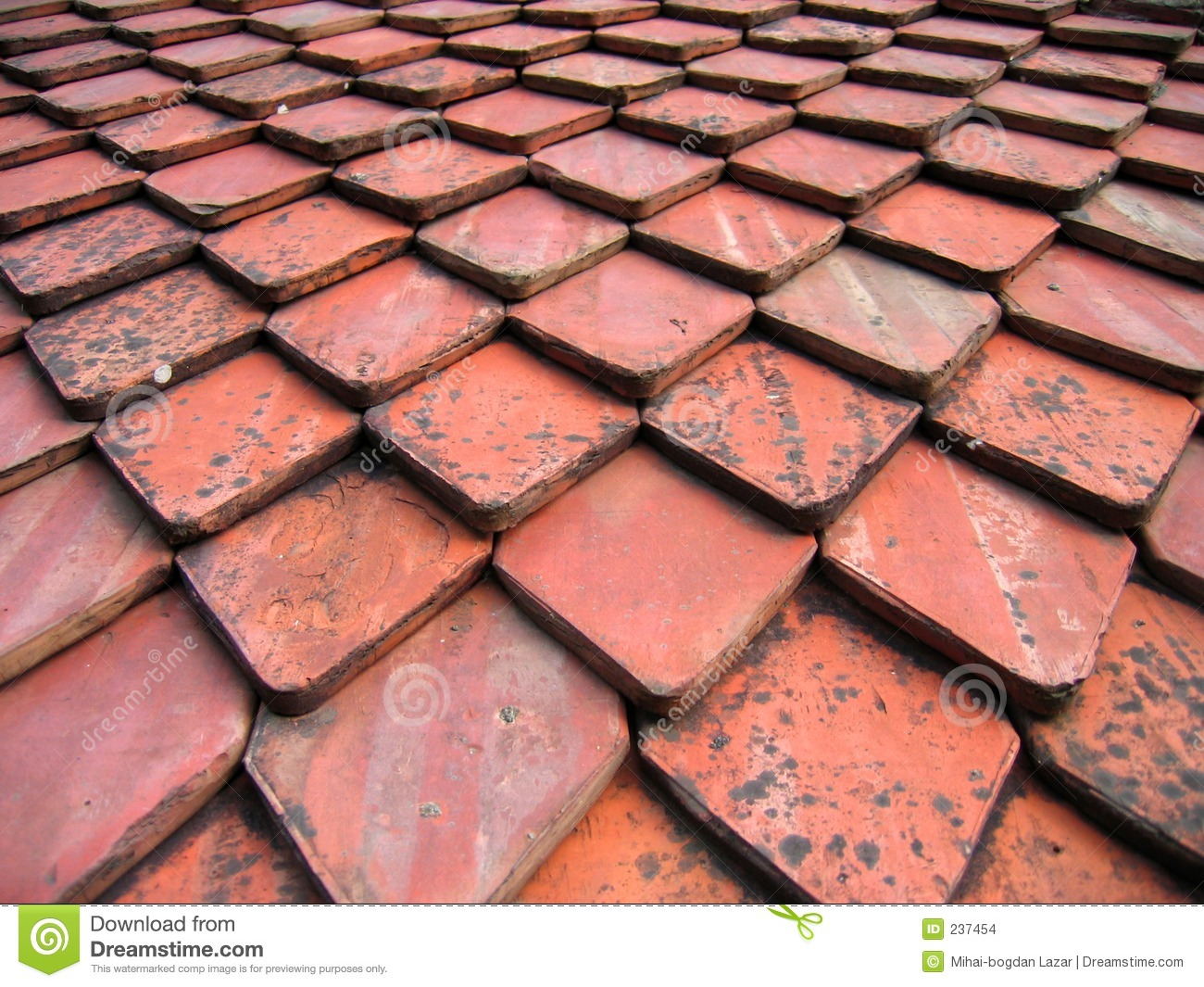 Roof tiles pattern stock photo image of attic brick for Roof tile patterns