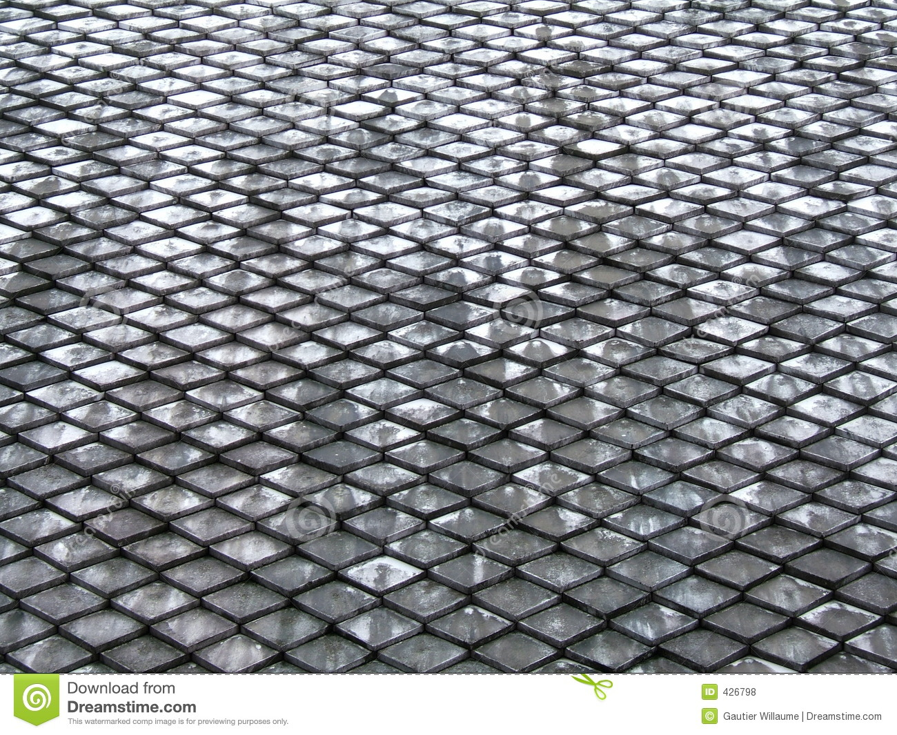 Roof Tiles Pattern Royalty Free Stock Photos Image 426798