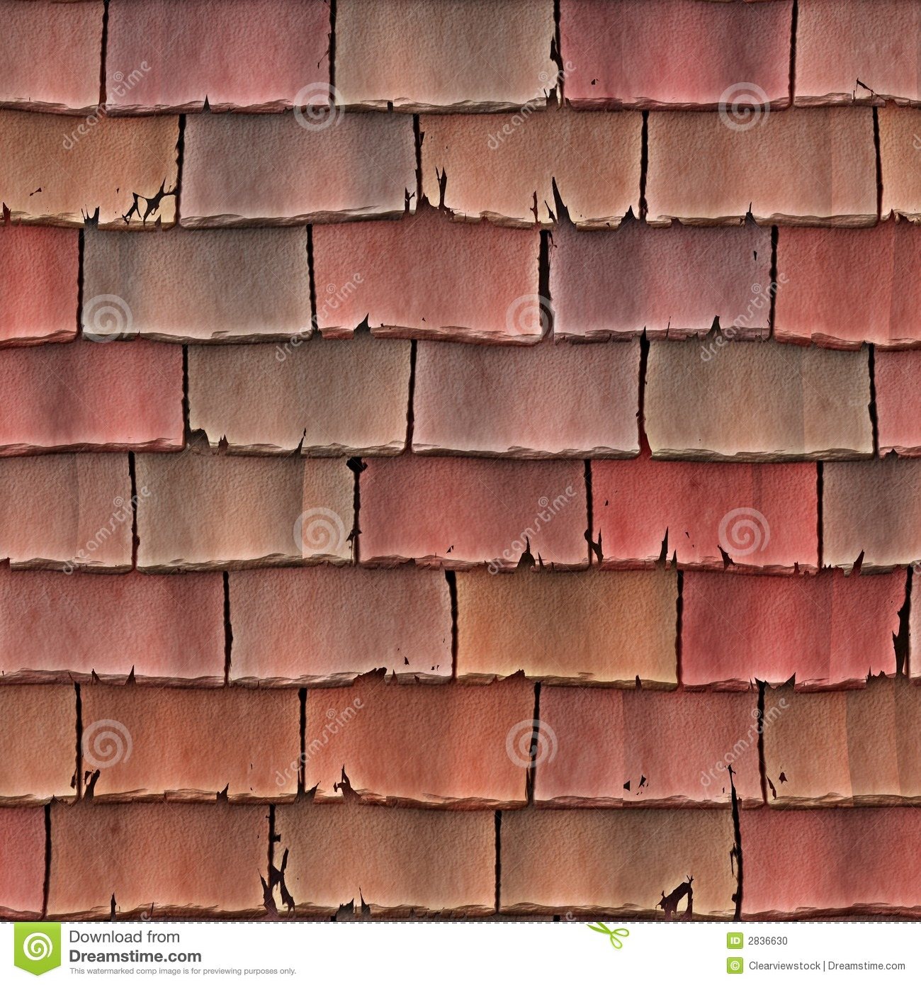 Attractive Royalty Free Stock Photo. Download Roof Tiles Shingles ...
