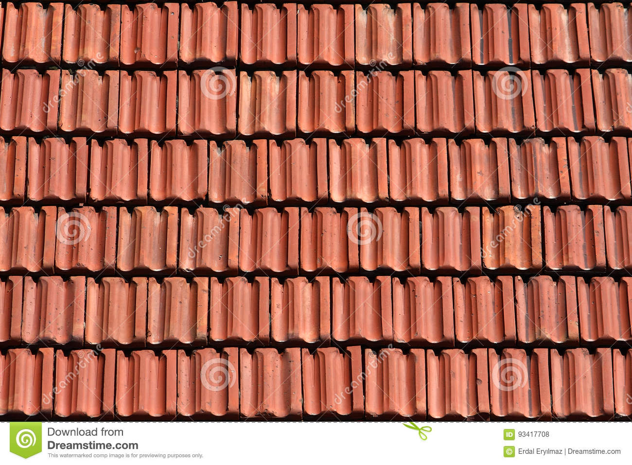 Brick Roof Texture roof tiles texture stock photo. image of recently, cover - 93417708