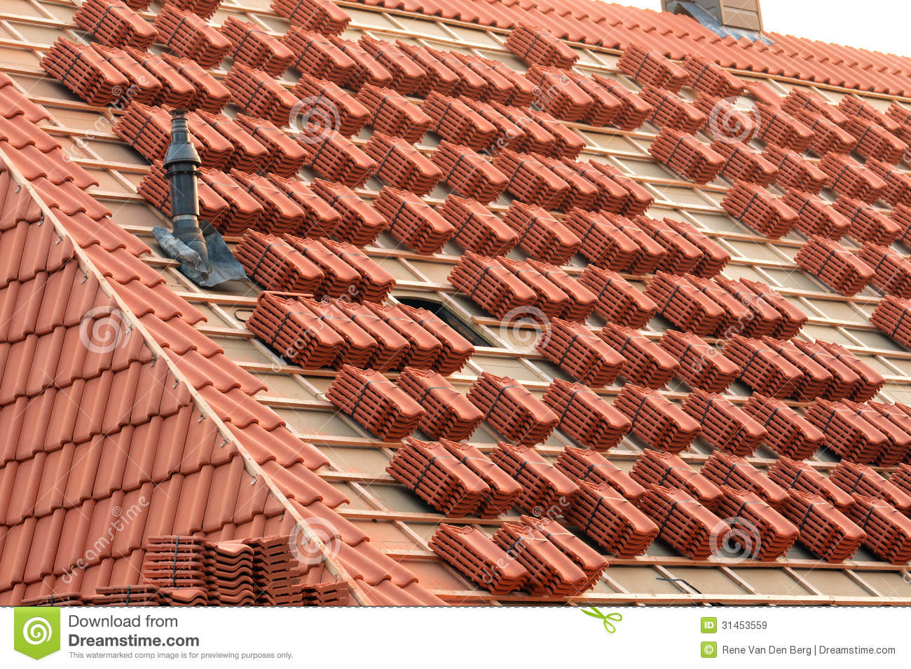 Roof Tiles Royalty Free Stock Images Image 31453559