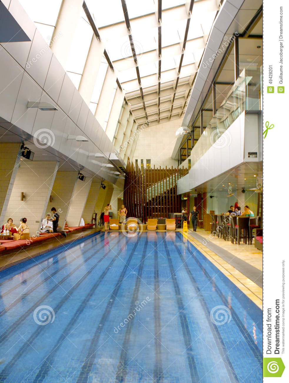Roof Top Pool Editorial Photo Image 49428201