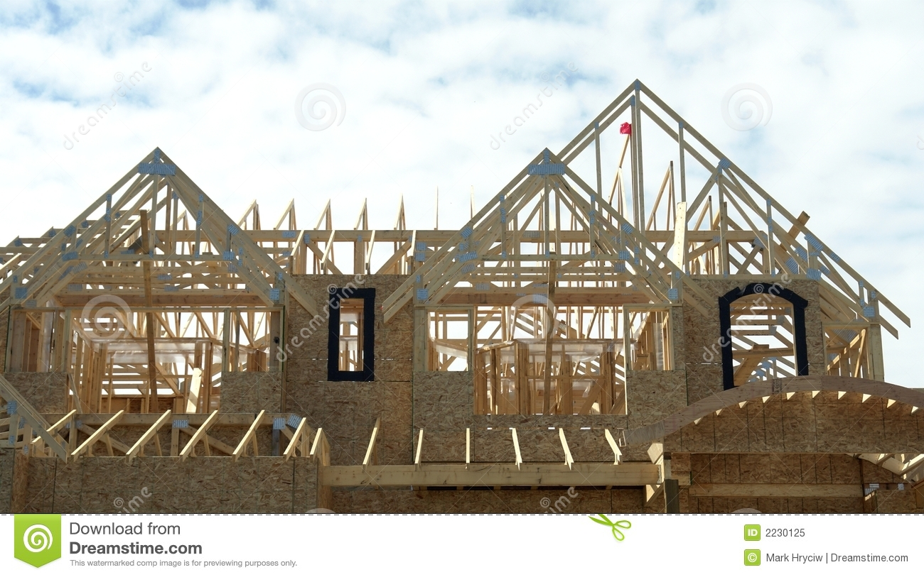 Roof trusses royalty free stock photo image 2230125 for Buy roof trusses online