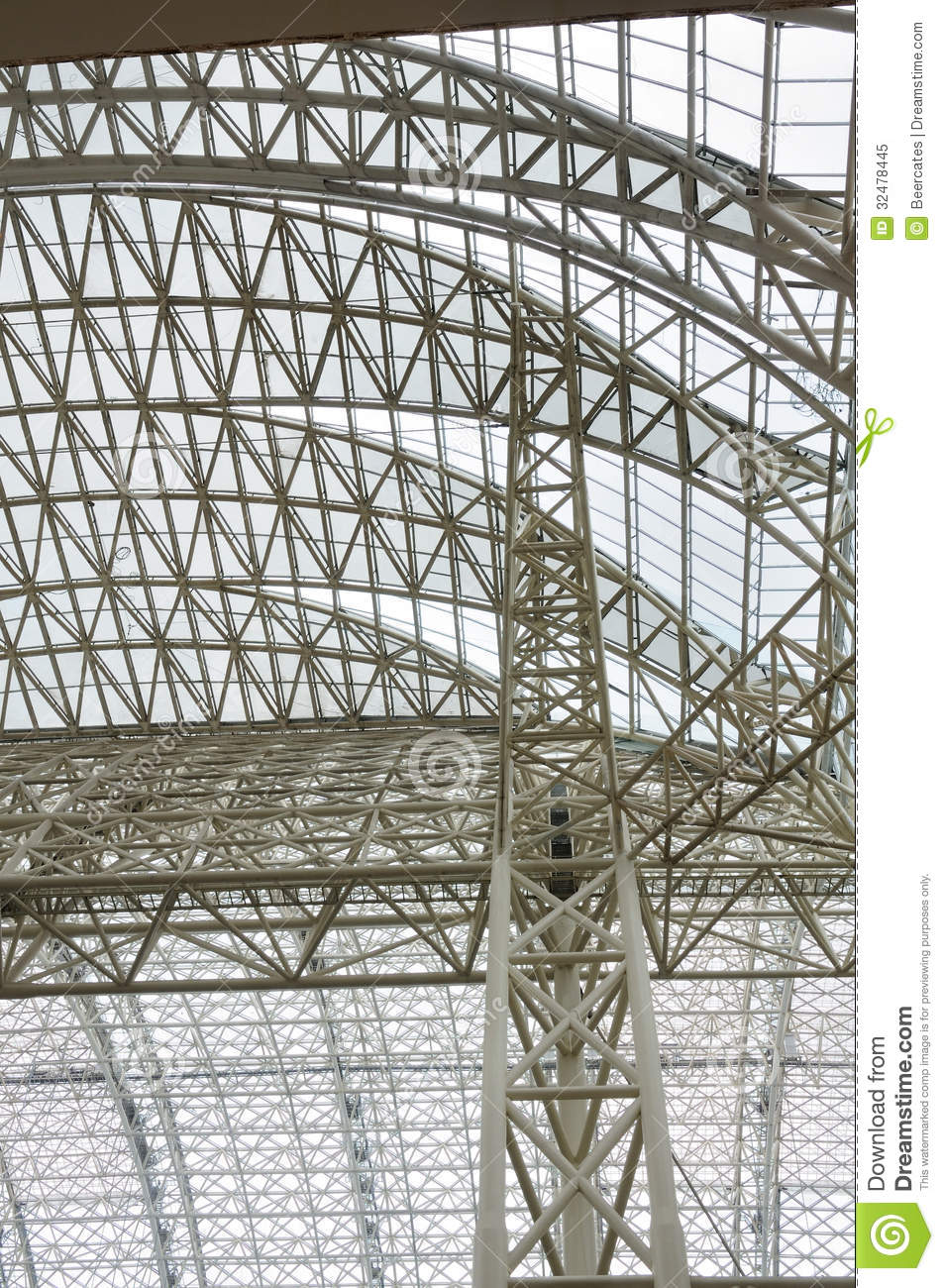 Roof Trusses Royalty Free Stock Photo Image 32478445