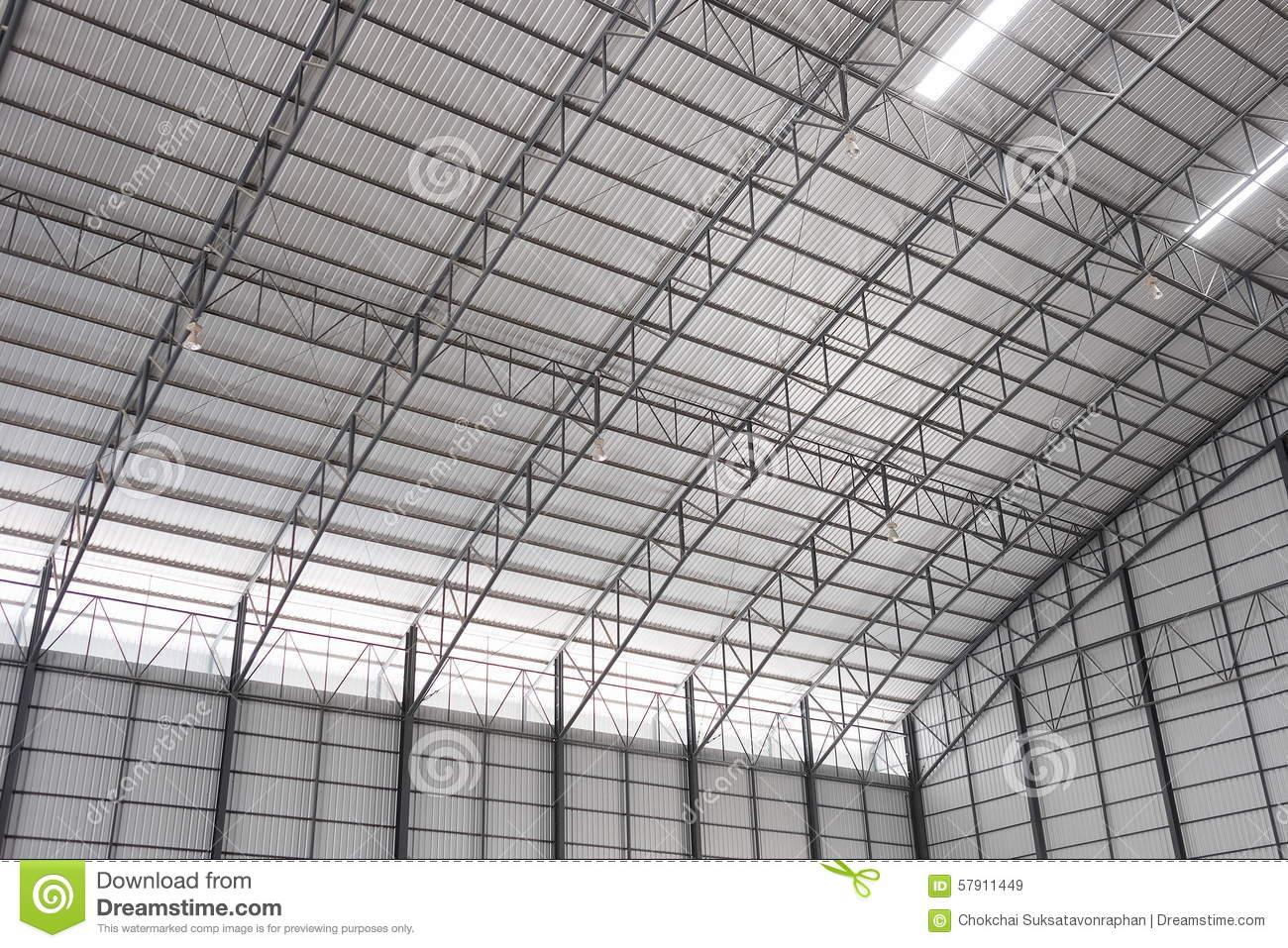 build metal roof sheet warehouse ... & The Roof Of Warehouse. Stock Photo - Image: 57911449 memphite.com
