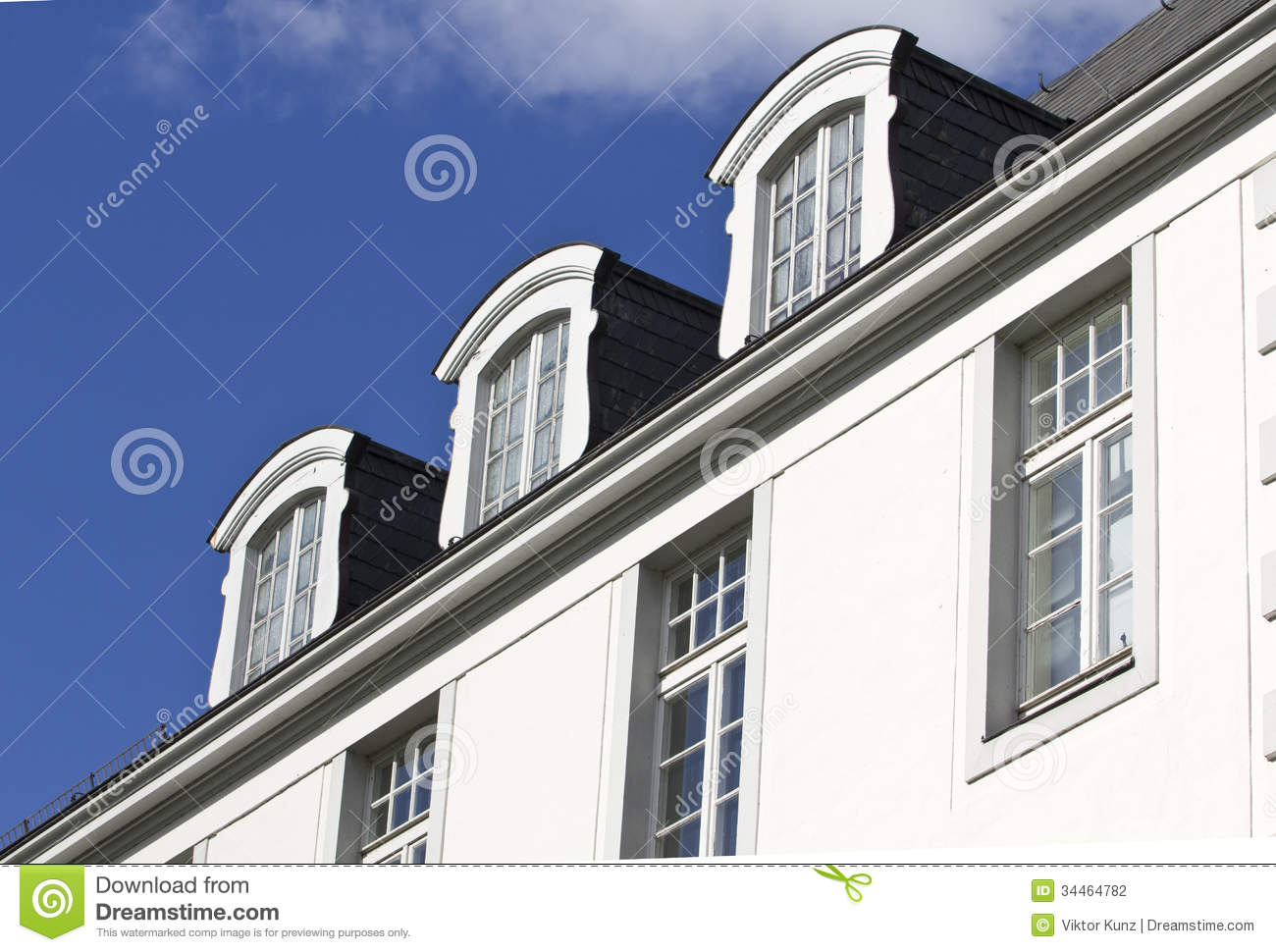 Roof window stock photo image of roof industry loft for Window roof design