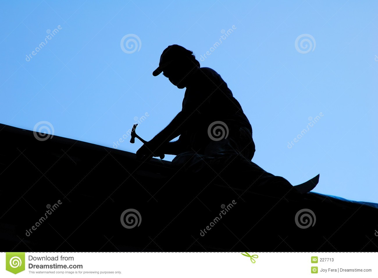 Roofer Stock Photos Image 227713