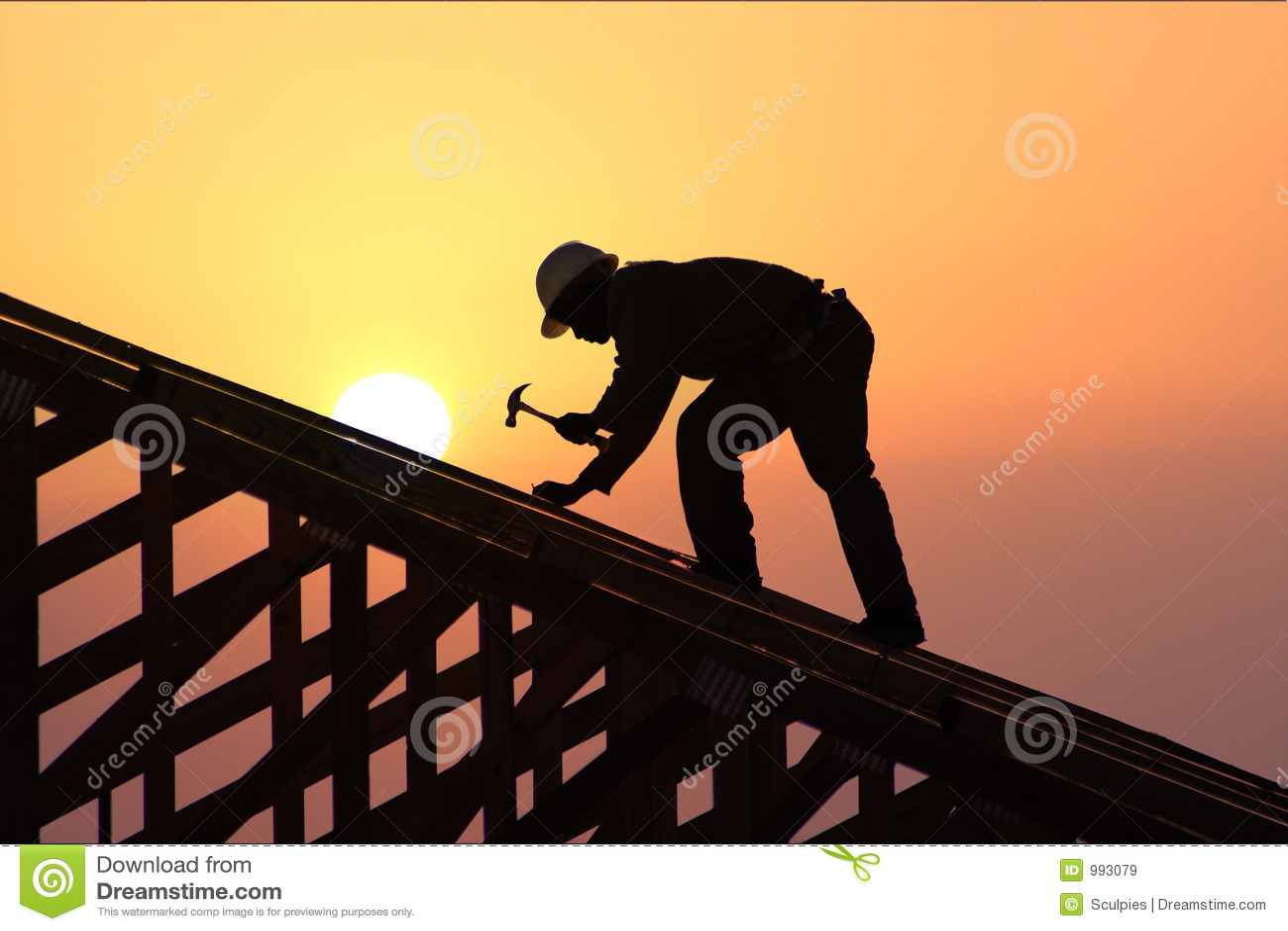 Rooferst-solnedgång