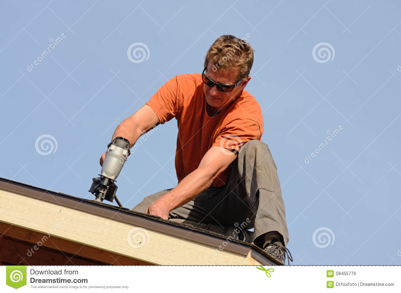 Roofing Stock Photo Image 58455779