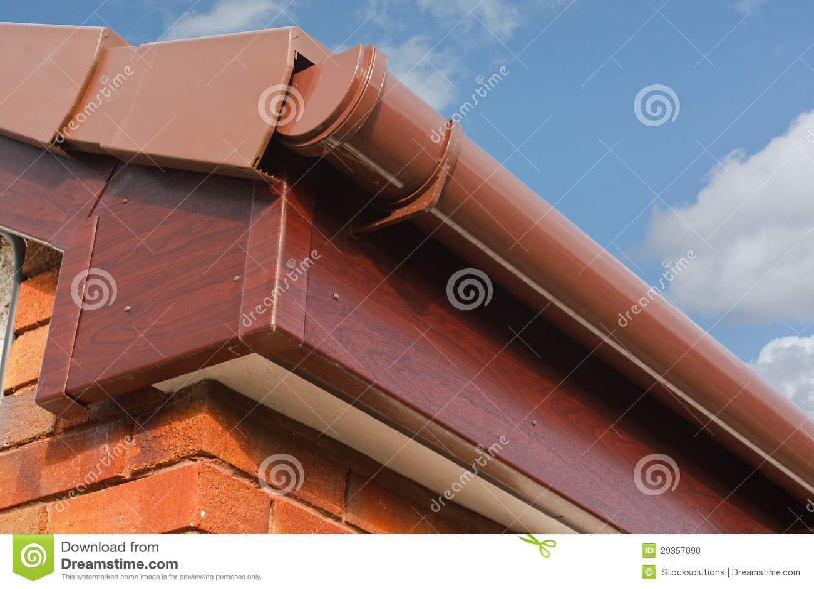 Roofline PVCU Soffit fascia board