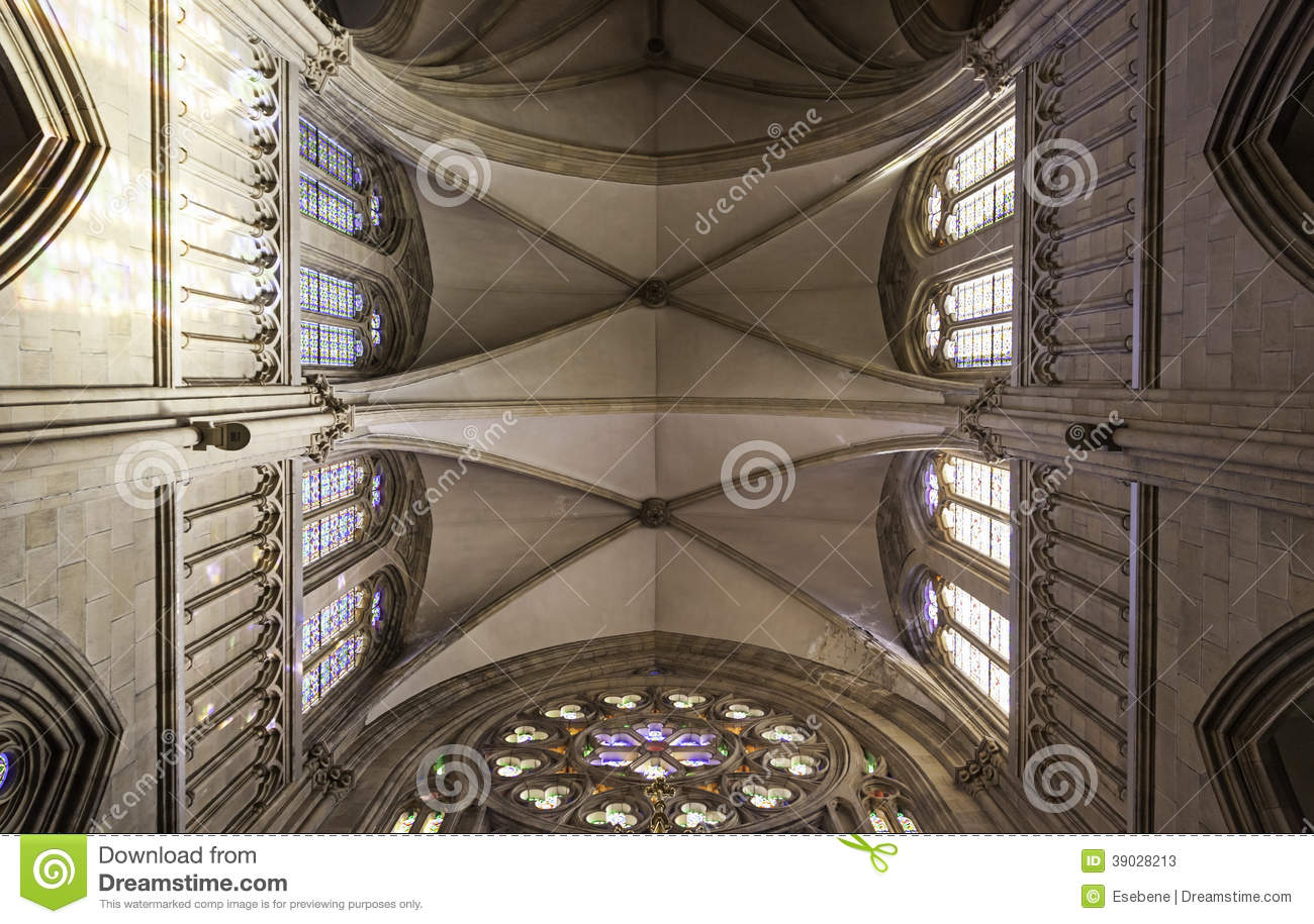 Download Roofs Of A Gothic Church Stock Image Catholic