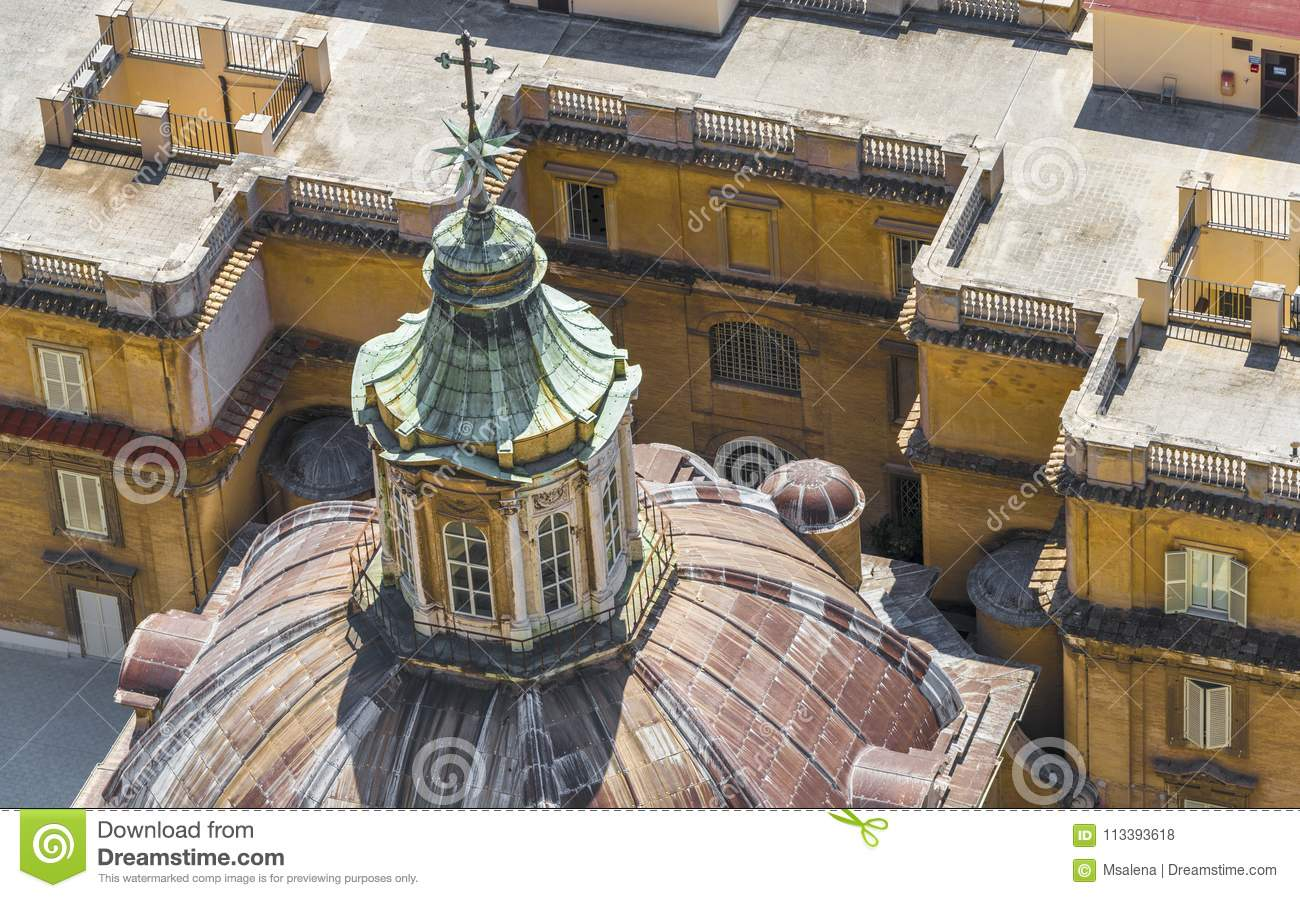 The roofs of Rome