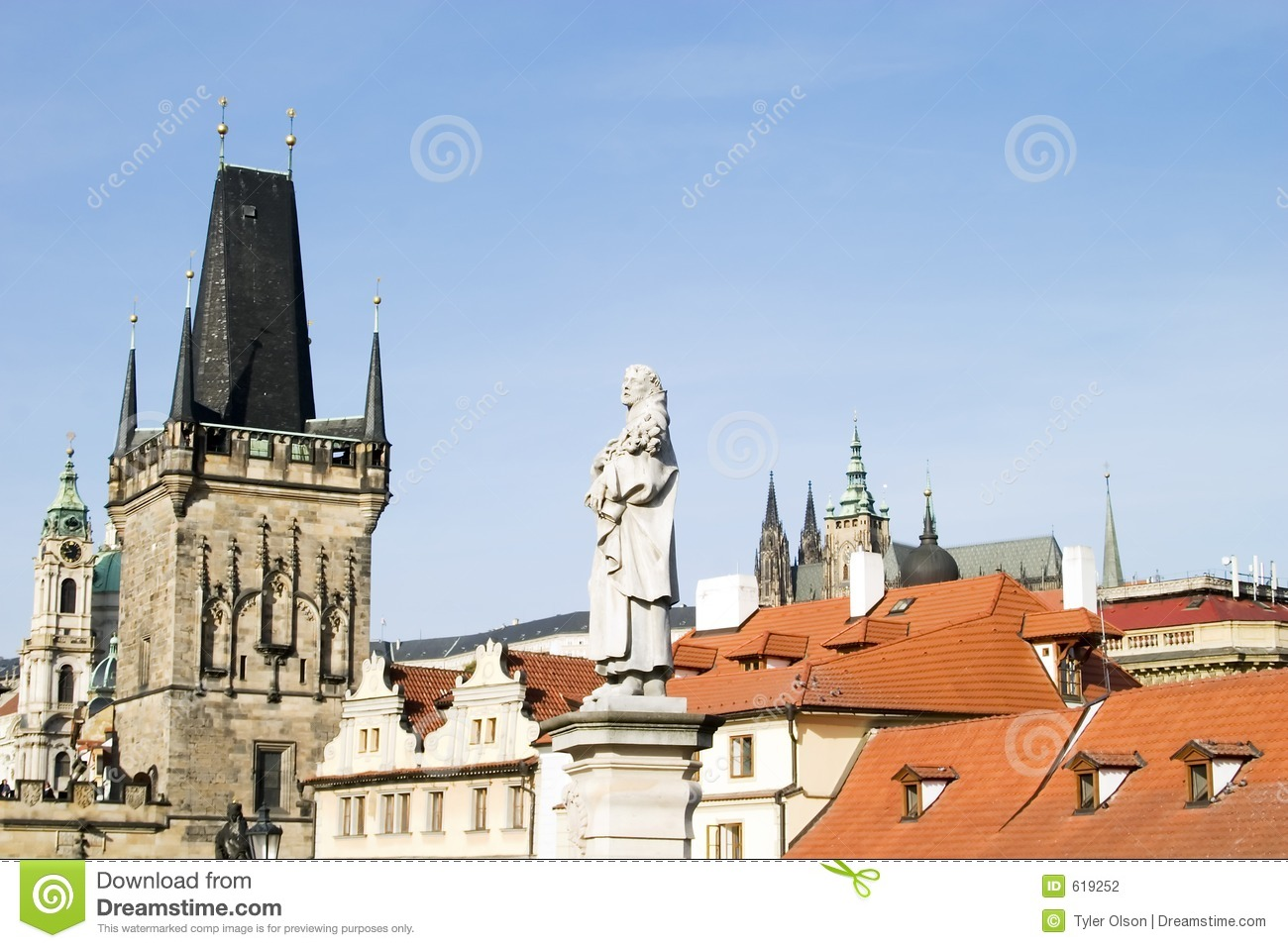 Roofscape prague