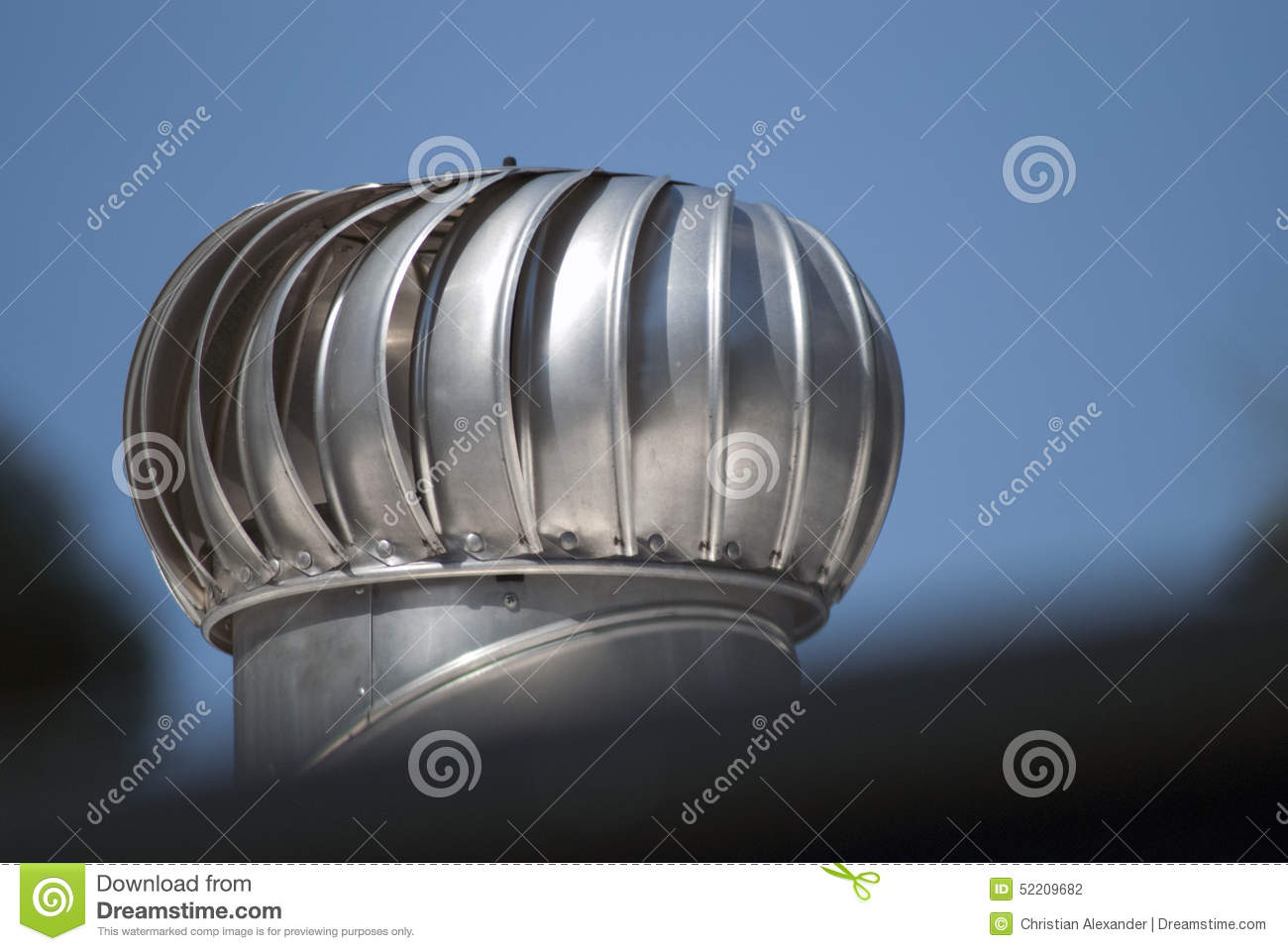 rooftop air ventilator stock photo. image of rooftop - 52209682