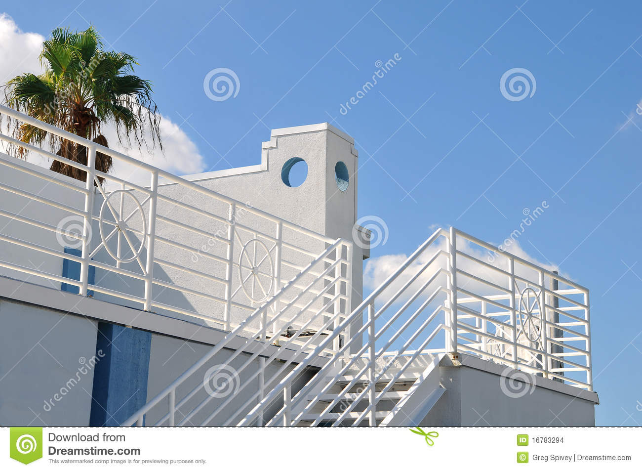 Rooftop deck of a house stock images image 16783294 - The rooftop deck house ...