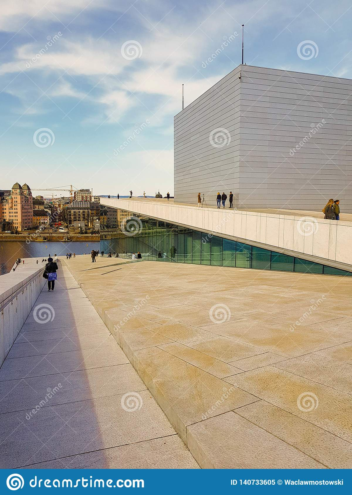 Rooftop of the Oslo Opera House, Norway