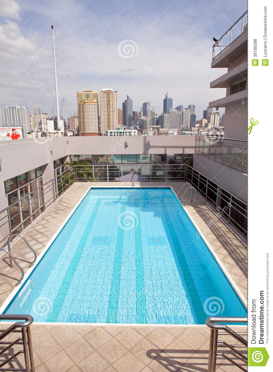 Rooftop swimming pool editorial stock photo image 38186588 for Rooftop swimming pool