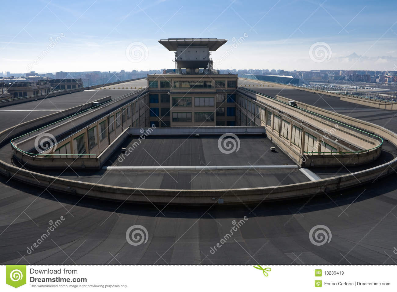Rooftop Test Track Royalty Free Stock Images Image 18289419