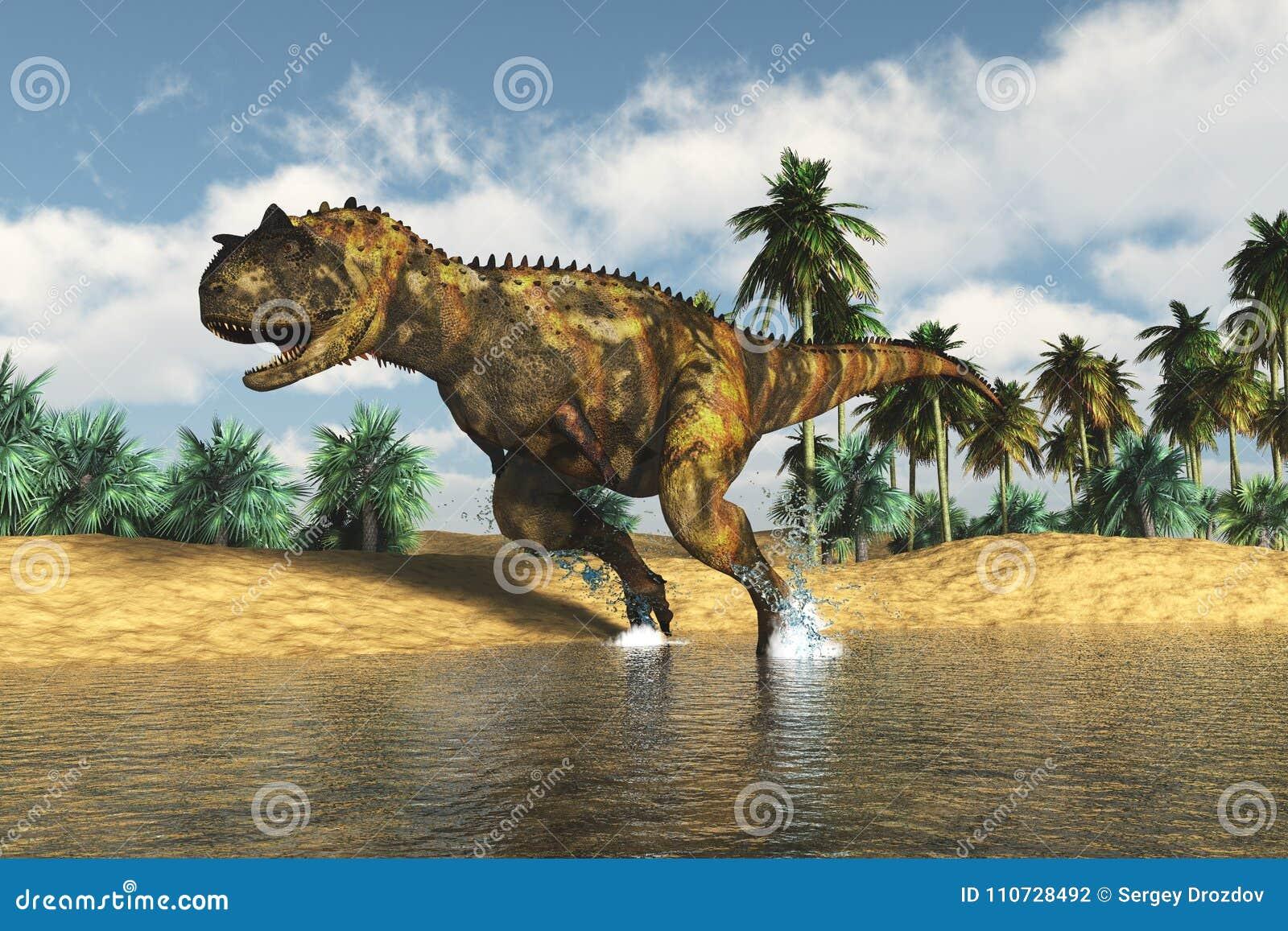 Roofzuchtige dinosaurus