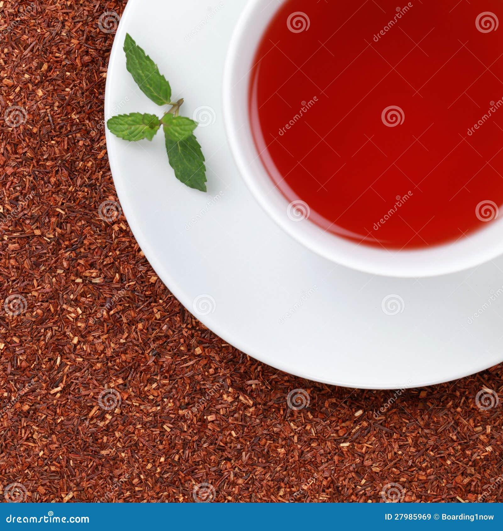 Rooibos Tea i en kopp