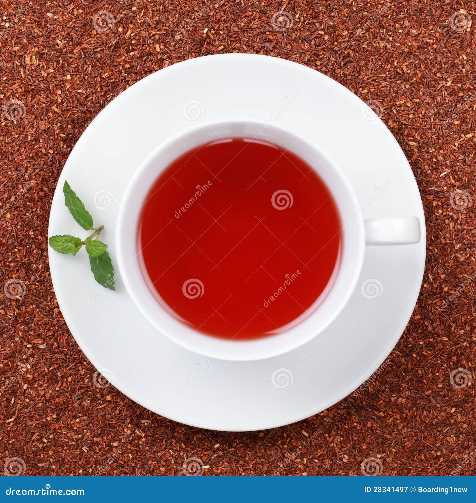 Rooibos Tea i en kupa