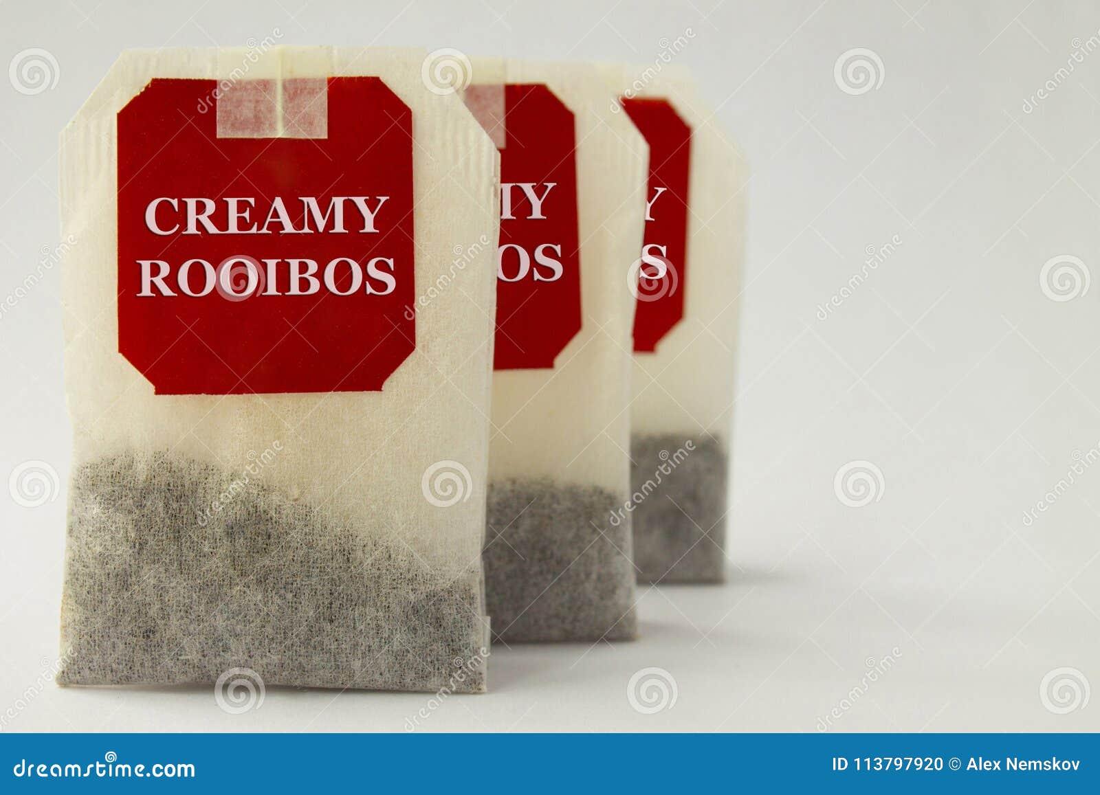 Rooibos tepåsar