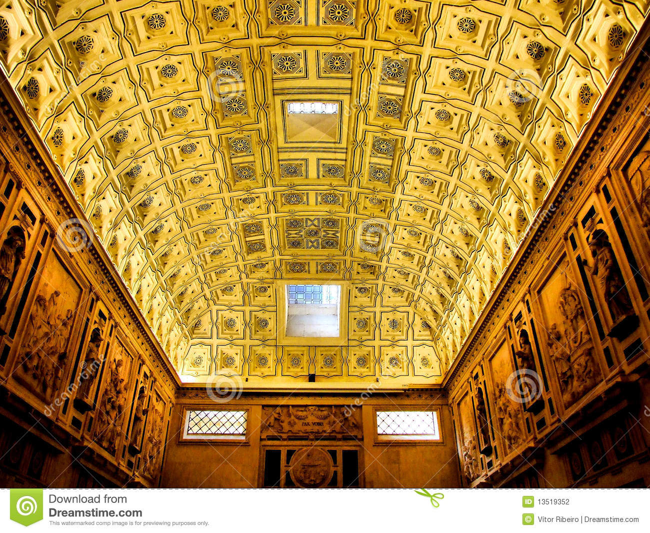 Download Room ceiling stock photo. Image of church, heritage, unesco - 13519352