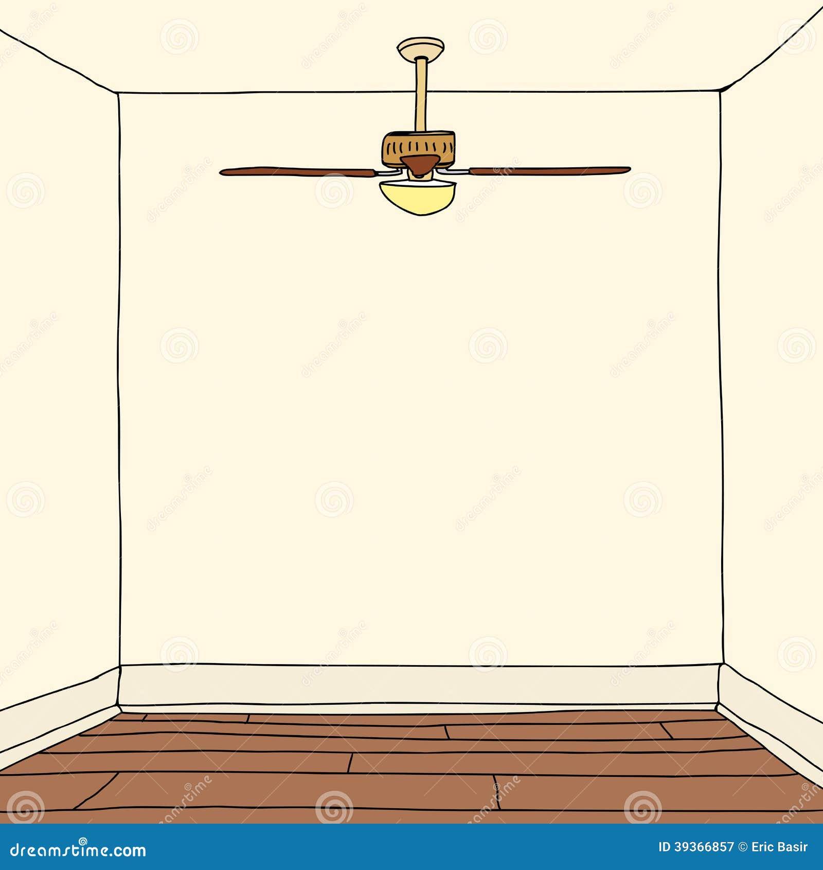 Room With Hardwood Floors Stock Vector - Image: 39366857