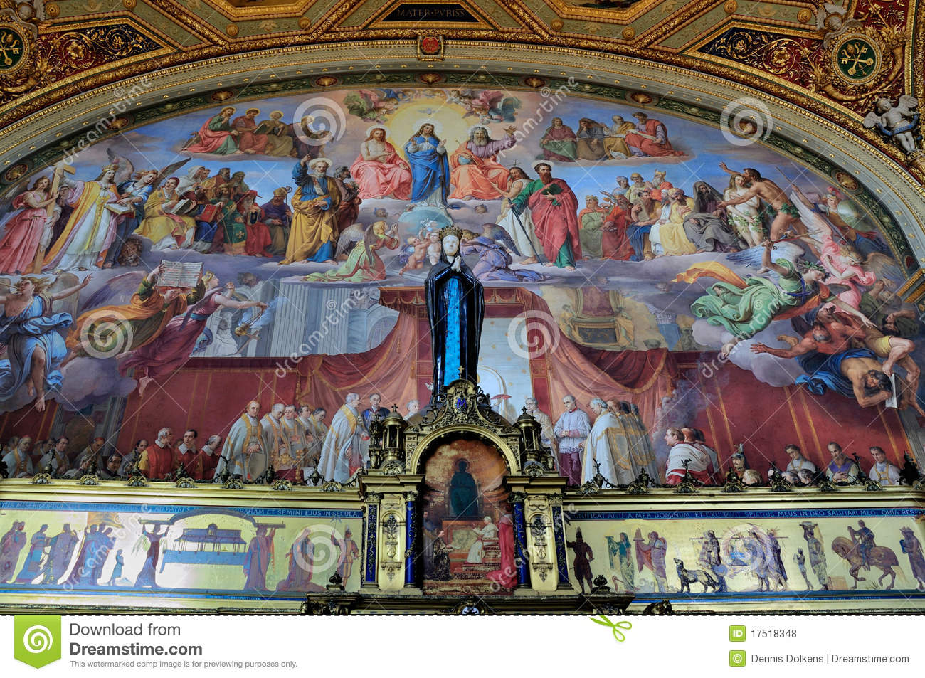 Room Of The Immaculate Conception Editorial Stock Photo