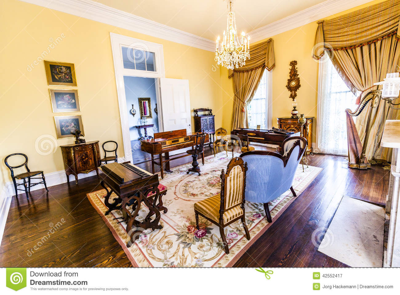 Winchester Mystery House Floor Plan Room Inside Famous Nottoway Plantation House Editorial