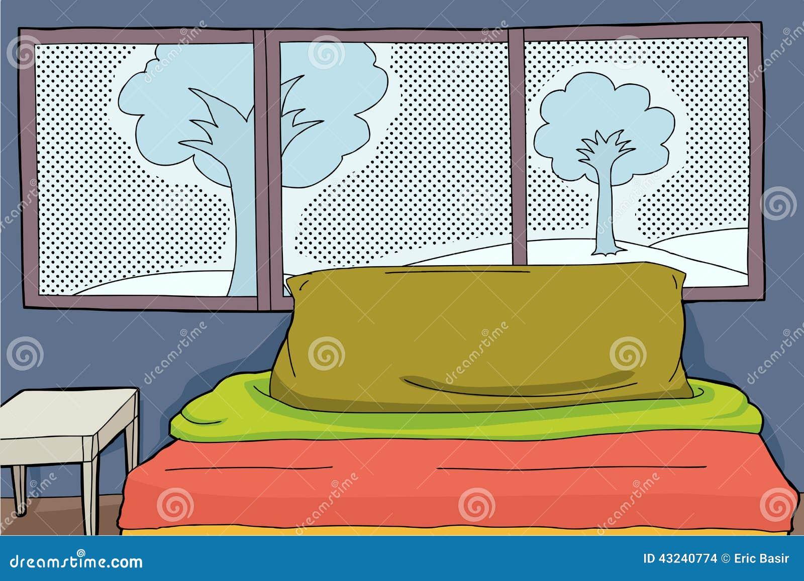 Bedroom window background