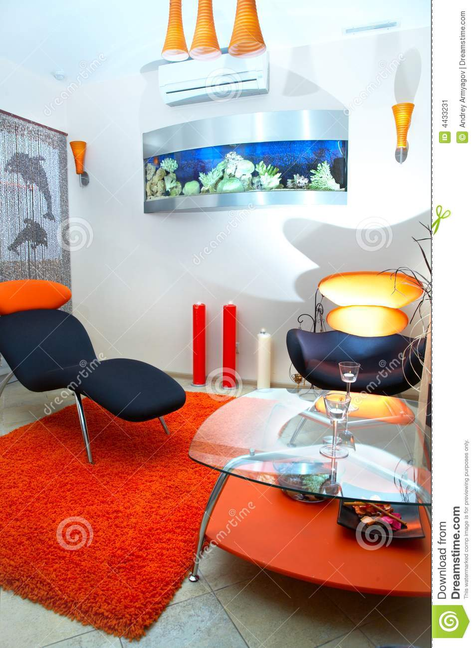 Room Of Rest Spa Salon Stock Image Image Of Indoors Home 4433231