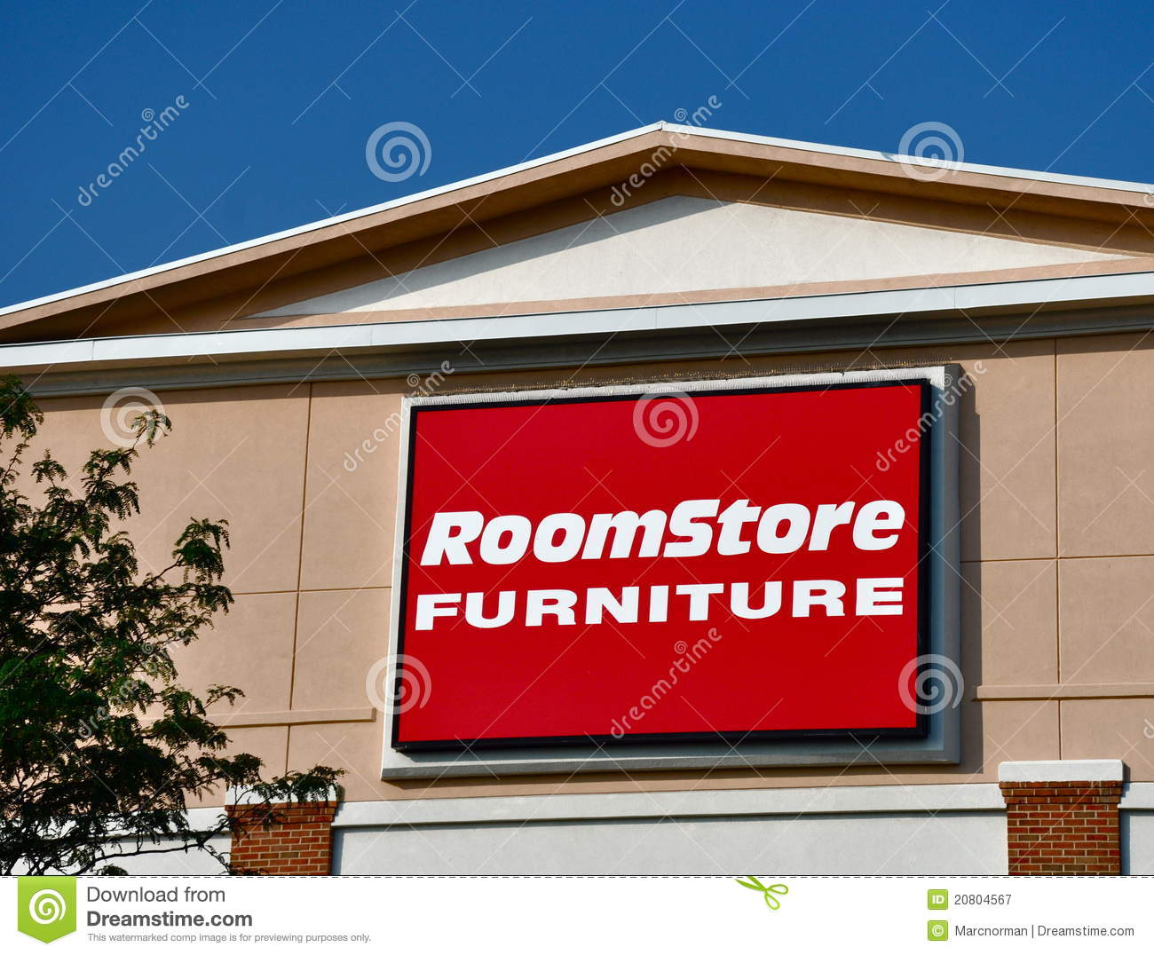 Room Store Furniture Sign Editorial Photography Image 20804567
