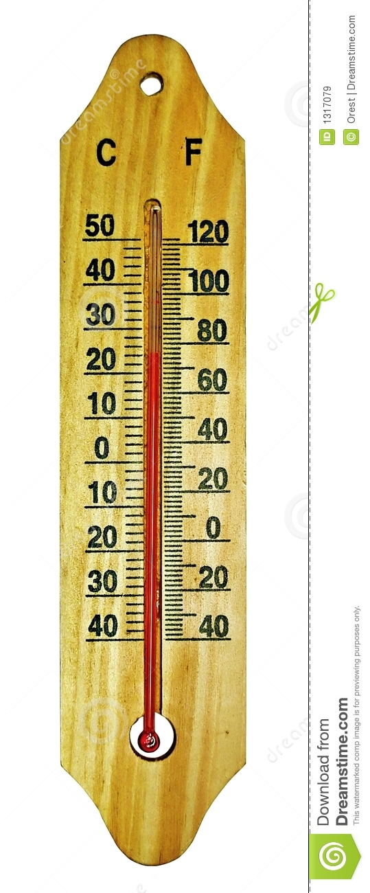 Room thermometer stock image. Image of measure, white - 1317079