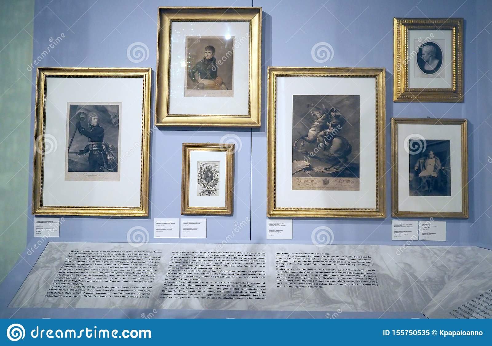 The Napoleonic Museum In Rome Italy Editorial Image Image Of