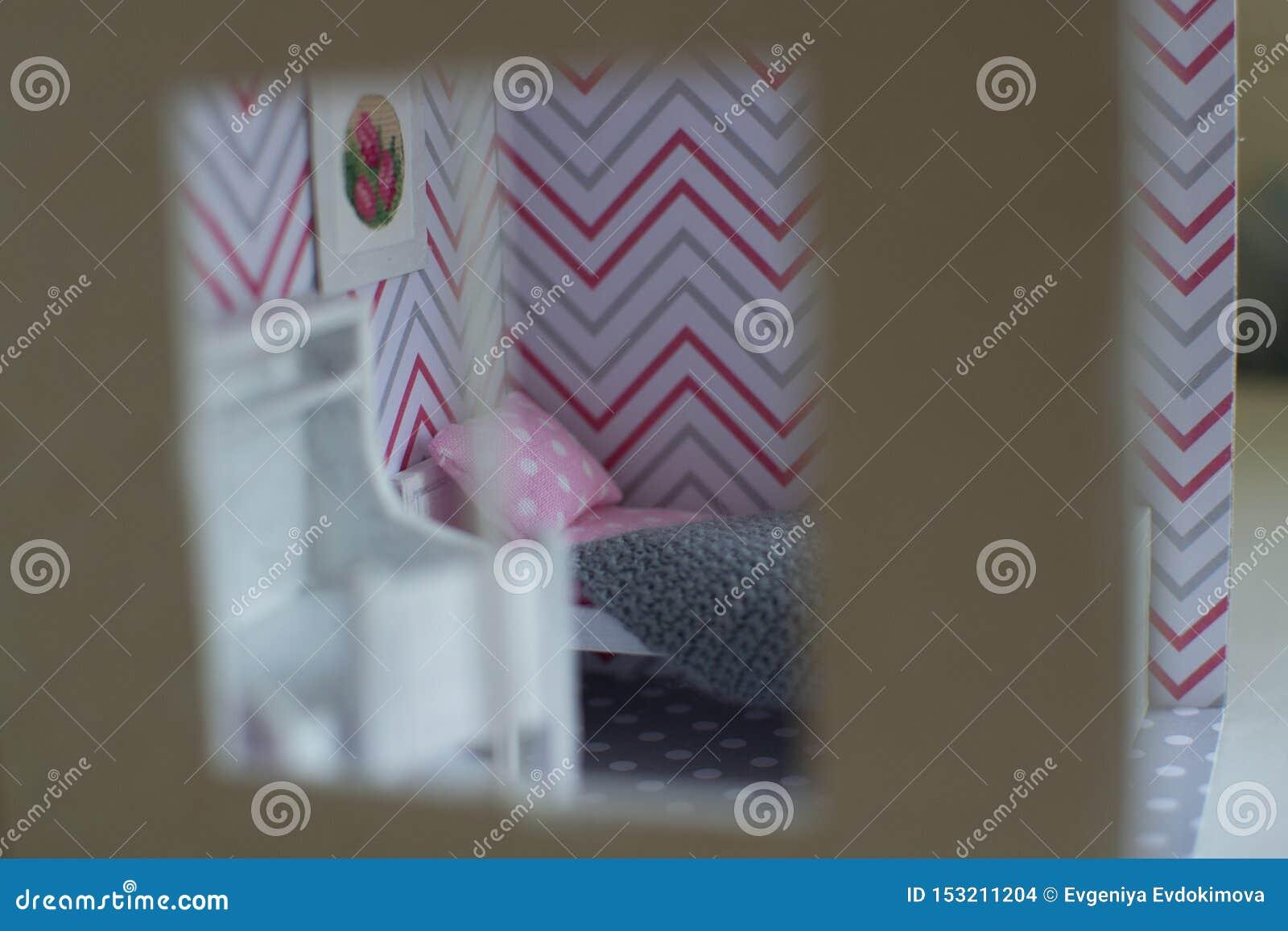 Roombox dziewczyny pokój na na mniejszą skalę