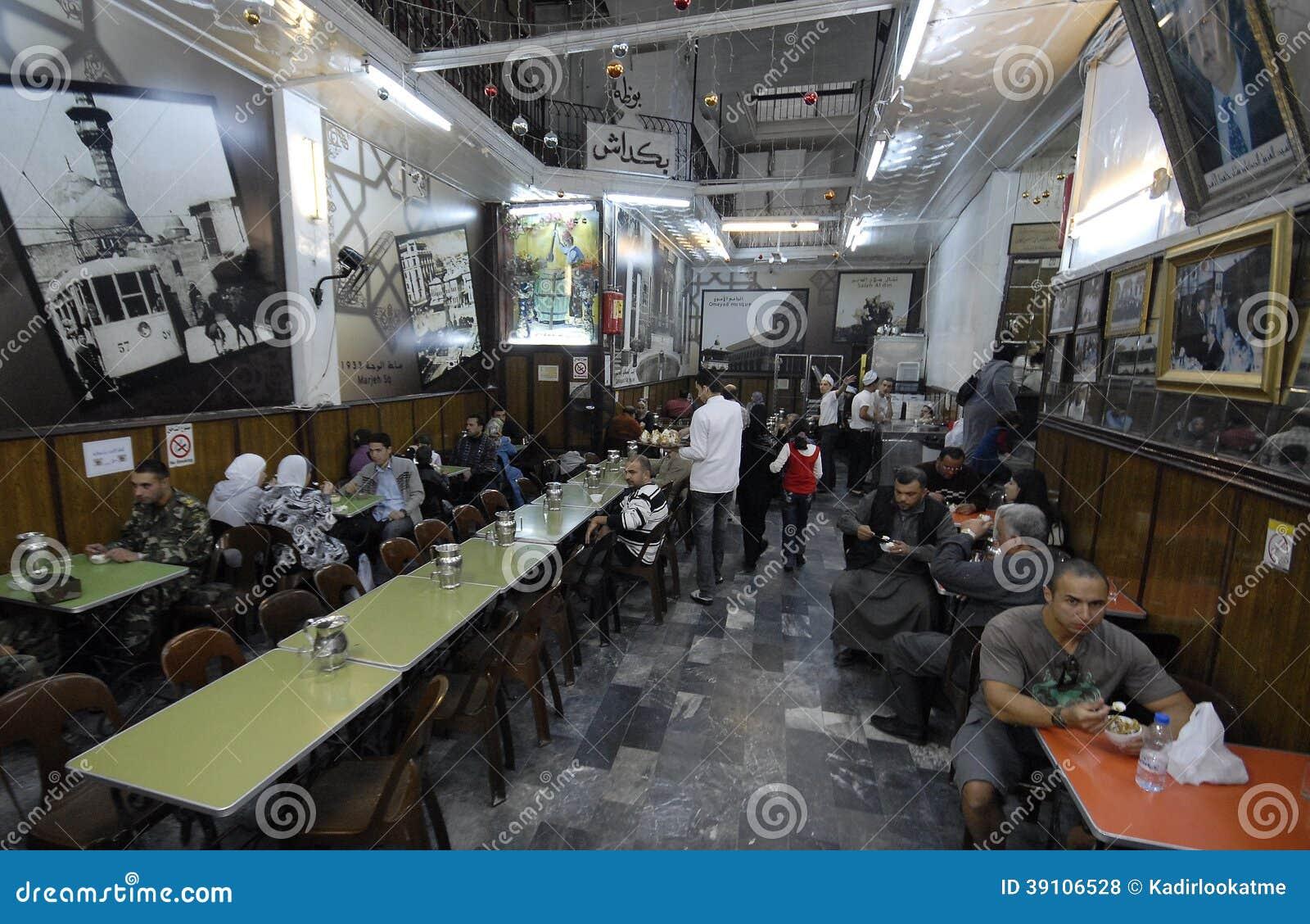 Roomijsverkopers in Aleppo